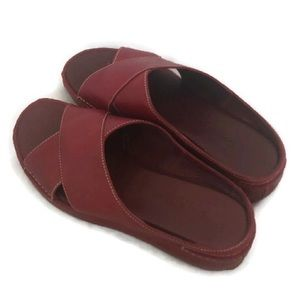 COLE HAAN COUNTRY RED DRIVING SANDALS 7.5